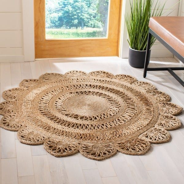 Overstock Com Online Shopping Bedding Furniture Electronics Jewelry Clothing More In 2020 Jute Rug Jute Rug Living Room Jute Round Rug