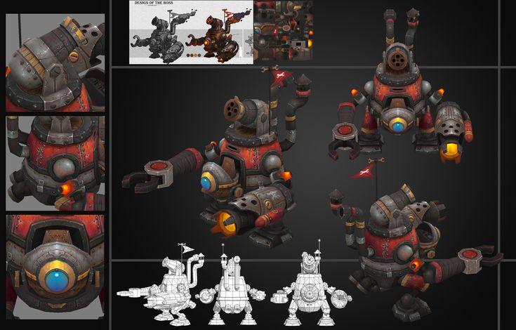 龙骑战歌 3D角色 QQ66012259@子民是羊采集到3D角色(64图)_花瓣