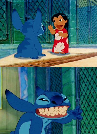 Lilo and Stitch - my favorite hiiiiii