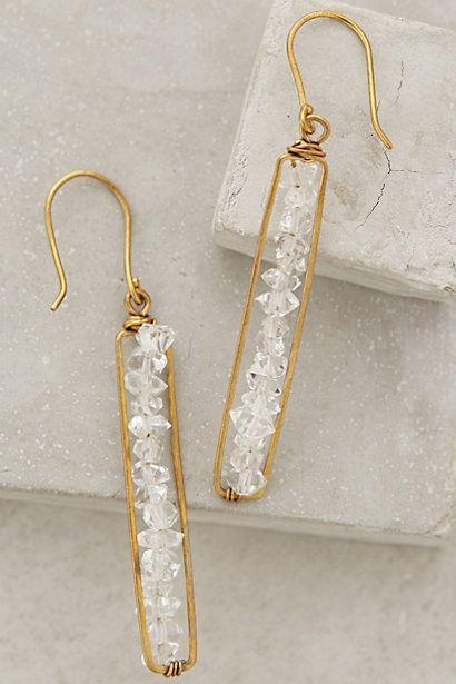 matchstick earrings