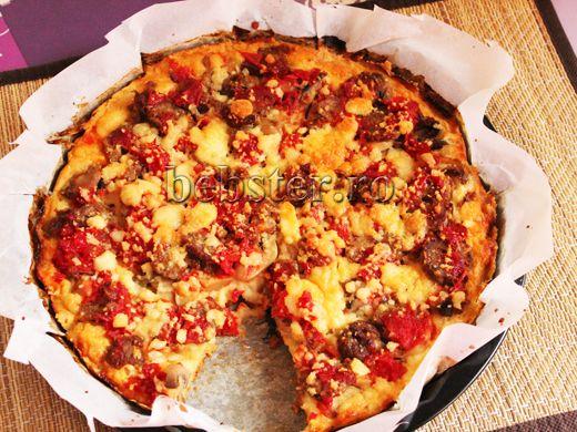 pizza taraneasca fara gluten