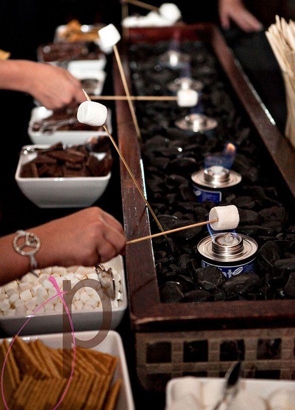 Desserts, Wedding Dessert Table, Chocolate, Marshmallow, Ice Cream, Milk Shake || Colin Cowie Weddings