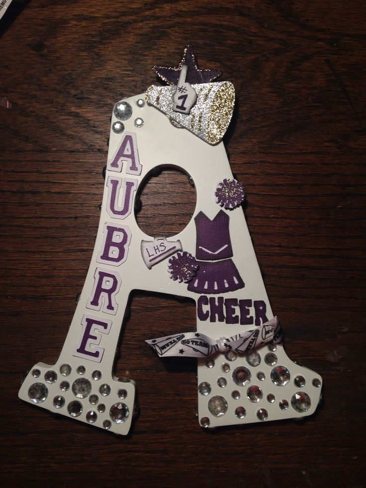 Cheerleading Locker Decorations. Cheerleading letter 13 best Cheer locker images on Pinterest