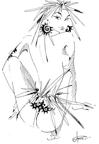 эротические рисунки женщин