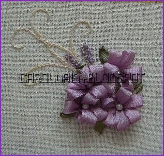 There's nothing like silk ribbon embroidery for making gorgeous, smooth dimensional ribbon embroidery flowers and leaves. Description from embroiderez.net. I searched for this on bing.com/images