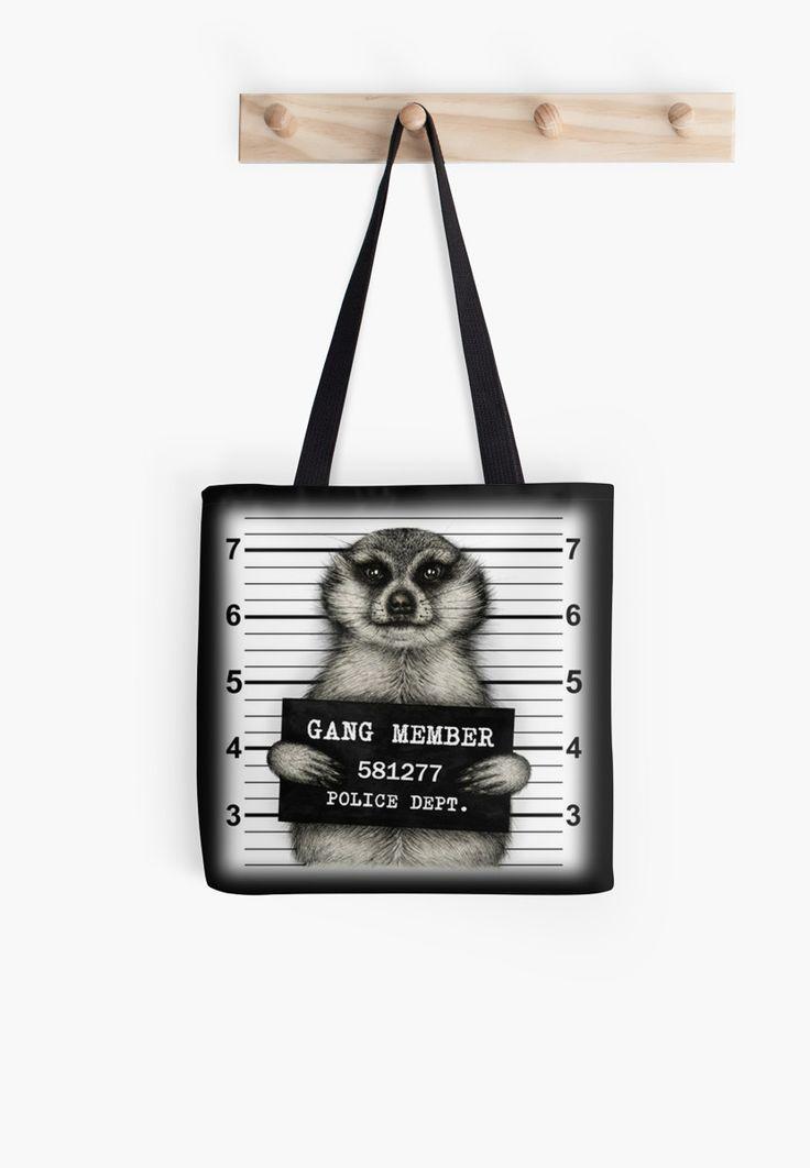 Meerkat mugshot black by LeylaTanlar
