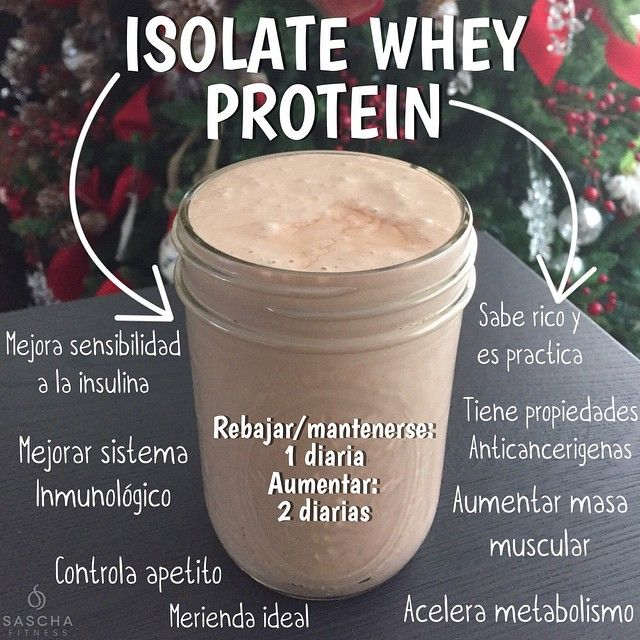 Isolate Whey Protein #fitness Special Magazine