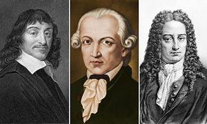 philosophers: Descartes, Kant, Leibniz