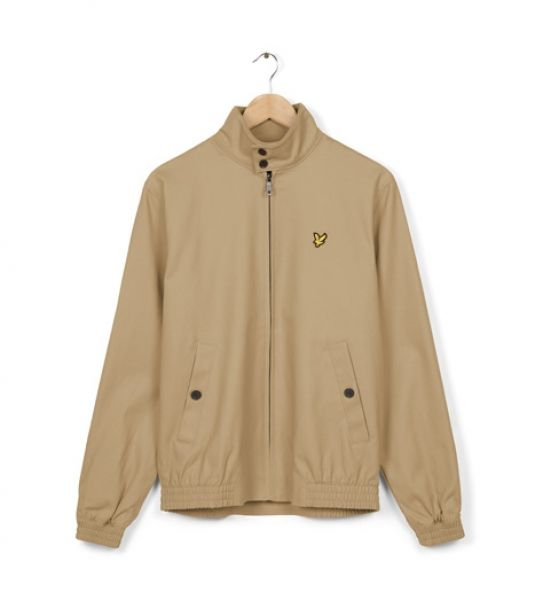 Lyle And Scott Mens Check Lined Harrington Jacket only for £100.00