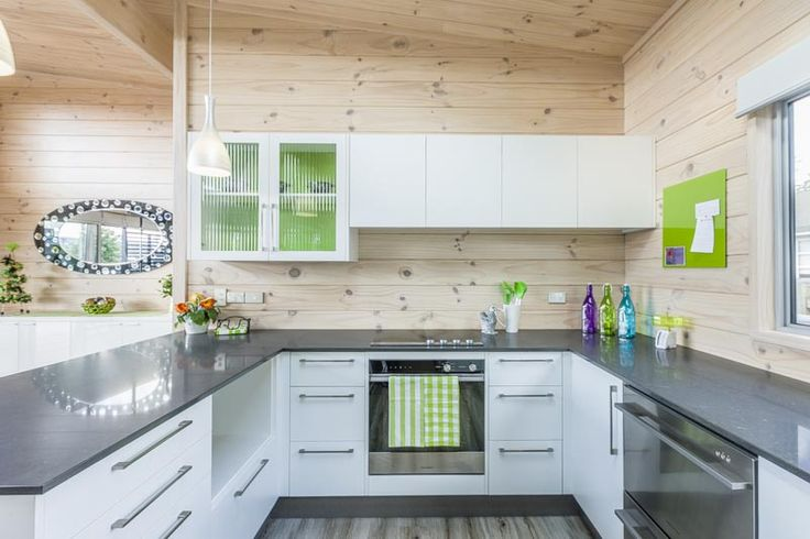 Kitchen in the Lockwood Takanini show home. Centrally located.