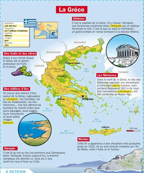 Fiche exposés : La Grèce                                                                                                                                                                                 Plus