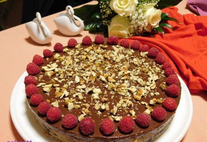Cukormentes hamis karamelltorta sütés nélkül