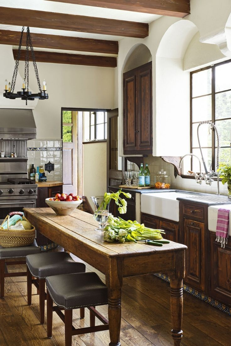 Modern Eat In Kitchen Ideas Ideas Of Decoration And Remodeling Eat In Kitchen Layout Tuscan Kitchen Kitchen Layout Rustic Kitchen