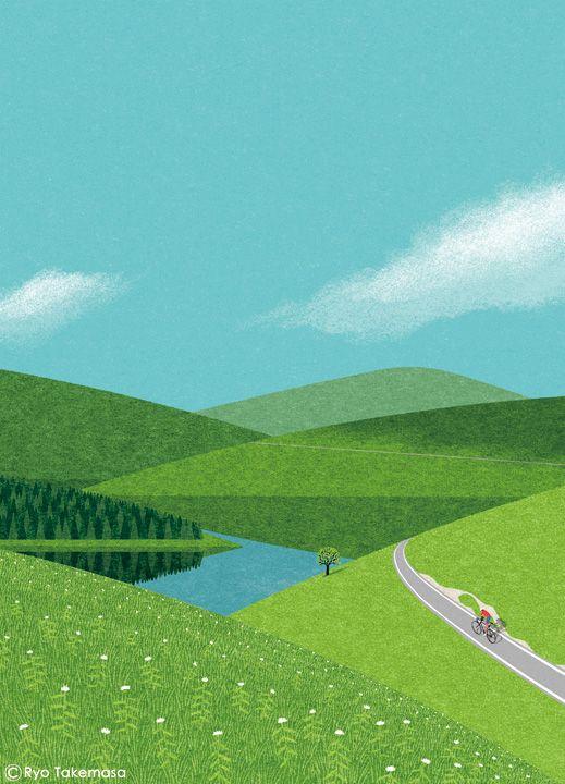 三菱UFJリサーチ&コンサルティングが発行する会報誌『SQUET』2016年5月号の表紙イラストレーションを担当しました。  Cover illustration for Squet  magazine, May 2016 issue   Client:  三菱...