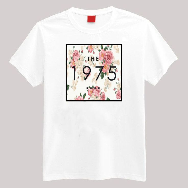 Your favorite band on a pretty floral background. Description: •5.3-ounce, 100% cotton (preshrunk) •Double-needle sleeves and hem •Taped neck and shoulders