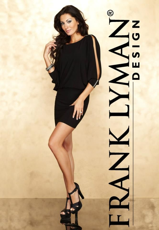 Frank Lyman Design Fall 2012 Collection is here!! #FrankLyman #LBD #elegant