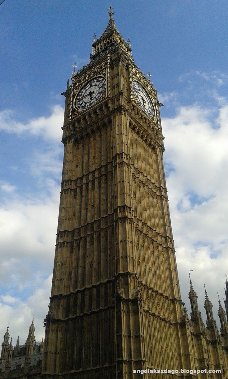 Język angielski dla każdego: Londyn w 2 dni - relacja z wycieczki. Część 2.