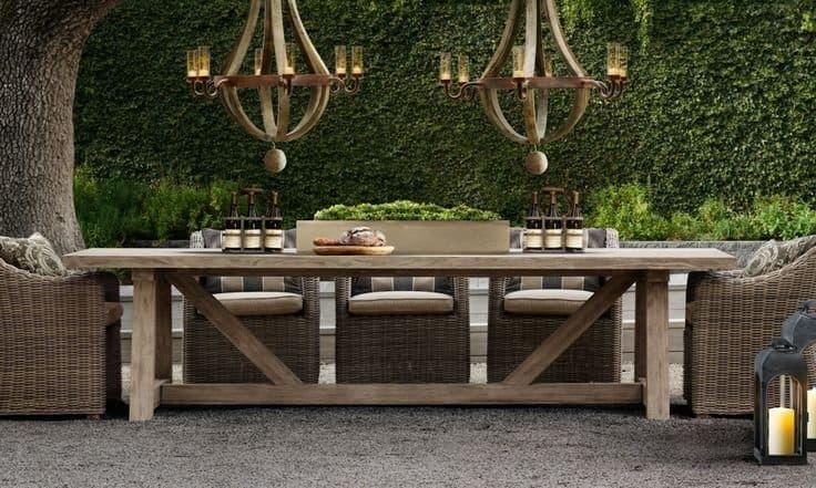 Restoration Hardware Outdoor, Restoration Hardware Inspired Outdoor Furniture