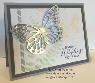 Butterfly Basics Biggest Sale of the Year Jan. 6-March 31, 2015 Linda Bauwin – Your CARD-iologist - Helping you create cards from the heart. www.stampingwithlinda.com Visit my YouTube Channel Linda Bauwin & check out my Stamp of the Month Kits