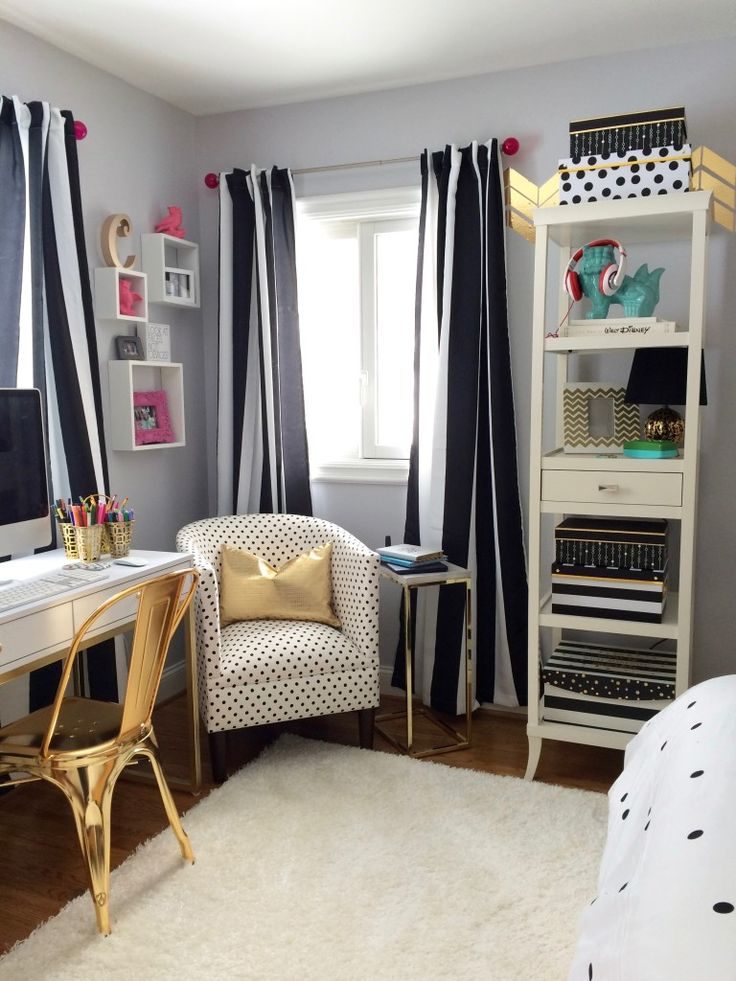Black, White And Chic All Over; Teen Room Makeover With Raymour U0026 Flanigan Part 88