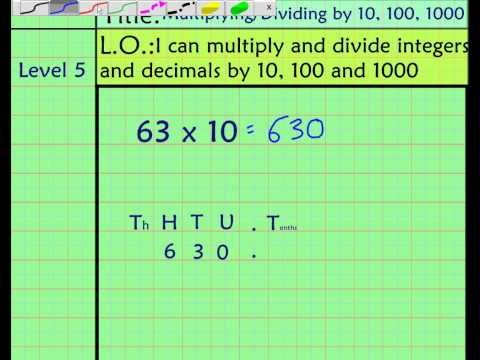 multiplying decimals by 10 100 and 1000 worksheet ks3 multiplying and dividing decimals by 10. Black Bedroom Furniture Sets. Home Design Ideas