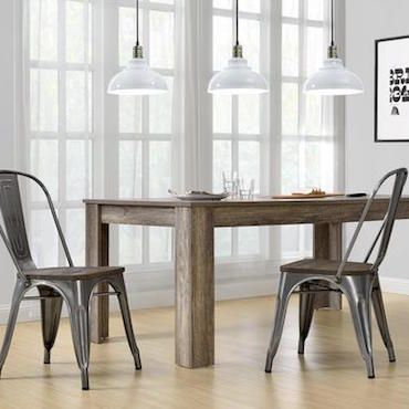 The key to selecting budget-friendly chairs is knowing your style. Shop and save money on the best dining chairs at Overstock. Learn about the top 5 cheap dining room chair styles.