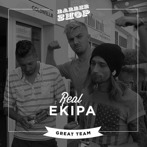 Barbershop Gdańsk Team.