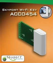 The Wi-Fi Key enables Venstar's T5800 and T6800 ColorTouch thermostat to access a home Wi-Fi network