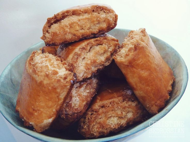 Crushed Almond + Cardamom Pastry, Gata/Nazook