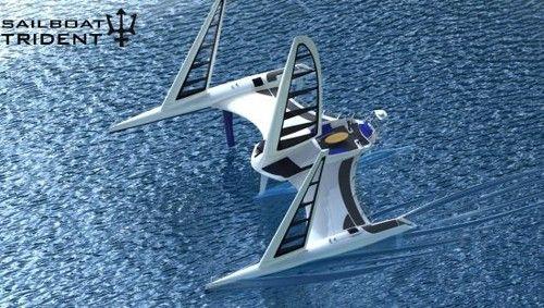 Trident Sailboat by Thiago Porto