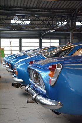 Les Débuts d'Alpine à Dieppe(76) Rares feux arrières de 4L super 1963