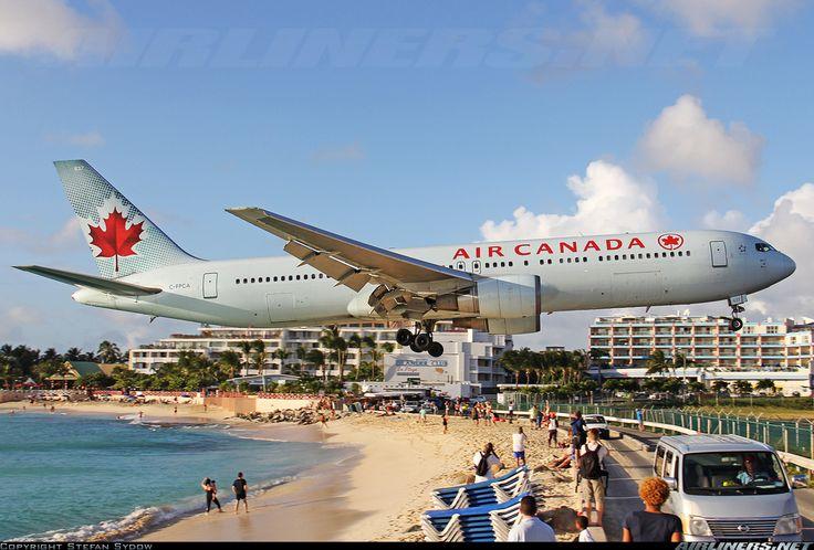 Air Canada Boeing 767-375/ER  Philipsburg / St. Maarten - Princess Juliana (SXM / TNCM) St. Maarten, February 2014