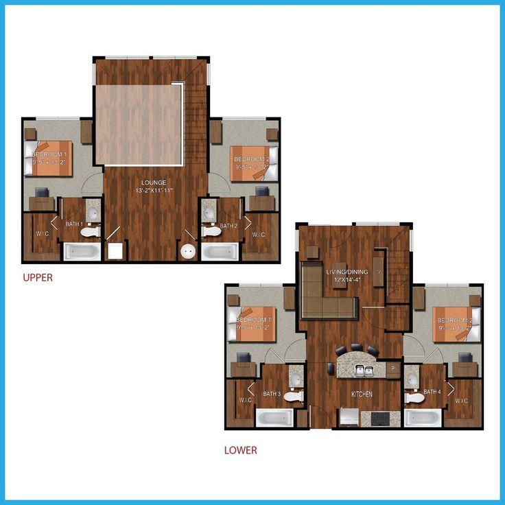 9 Best College Station Apartment Floorplans Images On Pinterest College Station Apartments
