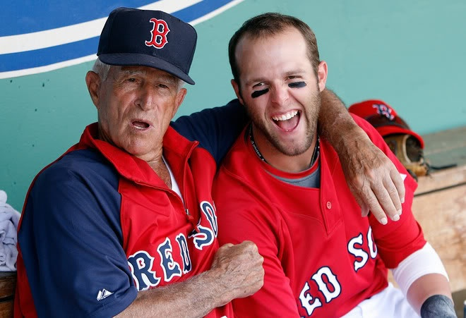 Pesky and Pedroia - who doesn't like Johnny and Dustin?
