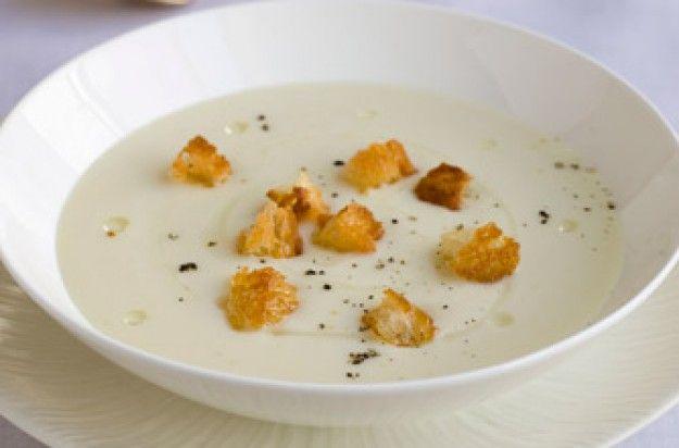 Gordon Ramsay's cream of cauliflower soup