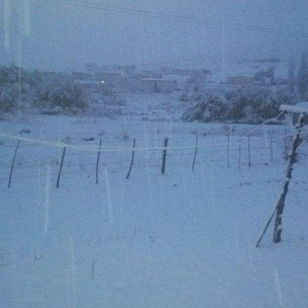 snow in Kokstad