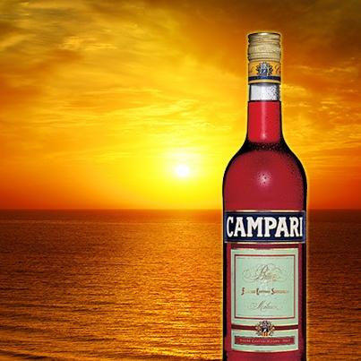 #Campari sunset