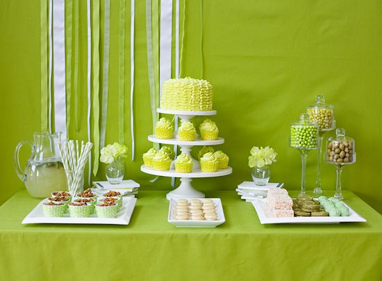 40 best images about Candy Dessert Table - green on Pinterest  Green ...