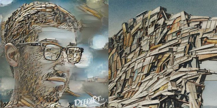 Faça um autorretrato no estilo de seus arquitetos e artistas favoritos com o DeepArt