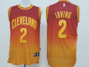 Cleveland Cavaliers NBA Kyrie Irving #2 Drift Fashion Basketball Jersey [F186]
