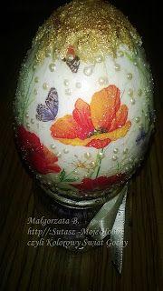 Sutasz-Moje Hobby czyli Kolorowy Świat Gochy: Jajka, owieczki i karteczki