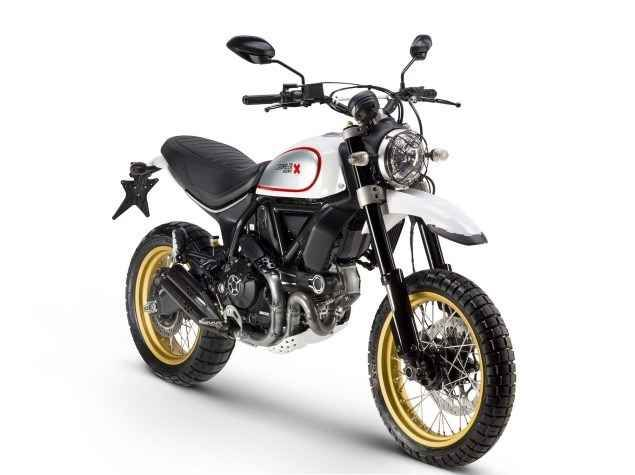 New 2017 Ducati SCRAMBLER DESERT SLED Motorcycles For Sale in California,CA. DEPOSITS BEING TAKEN NOW TO GUARANTEE DELIVERY!! MSRP PRICING- $11,595 FOR WHITE, $11,395 FOR RED Straight from the desert and mountains of California, Ducati Scrambler Desert Sled makes its entry in the Land of Joy, an enduro version inspired by the world of off-road motorcycles that made history in the United States during the 60s and 70s. The name Desert Sled refers to standard motorcycles over 500 cc that were…