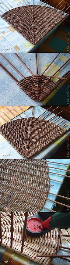 Weaving újság csövek - Paper Crafts - Kiadó - Rukodel.TV