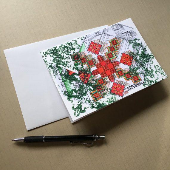 Mixed Media Art Card/ Original Art Card/ Hand by atelierJADELZODOR