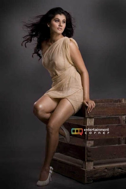 Tapsee Pannu beautiful breasts and legs