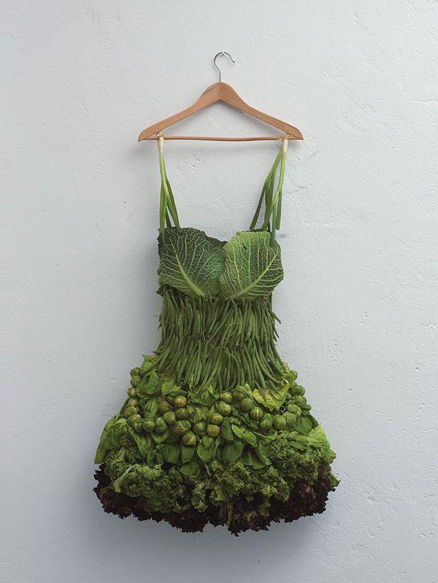 Quand une artiste transforme des fruits et légumes en oeuvres d'art | Daily Geek Show