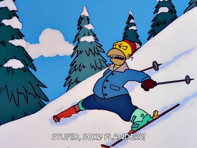 The Simpsons - Quote - Stupid sexy Flanders!
