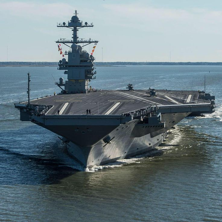 USS Gerald R. Ford (CVN 78) Introduction to the fleet is planned for April 2017.