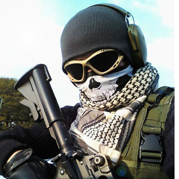 Motorcycle/Cycling Skull Ghost Face Windproof Mask Outdoor Sports Warm Ski Caps MTB Bicycle Balaclavas Masks Scarf Hallowee Mask