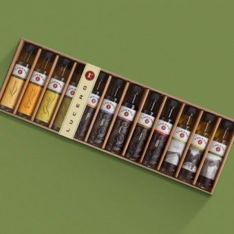 Lucero Olive Oil Deluxe Sampler